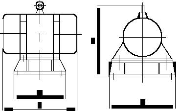 仓壁振动器外形图